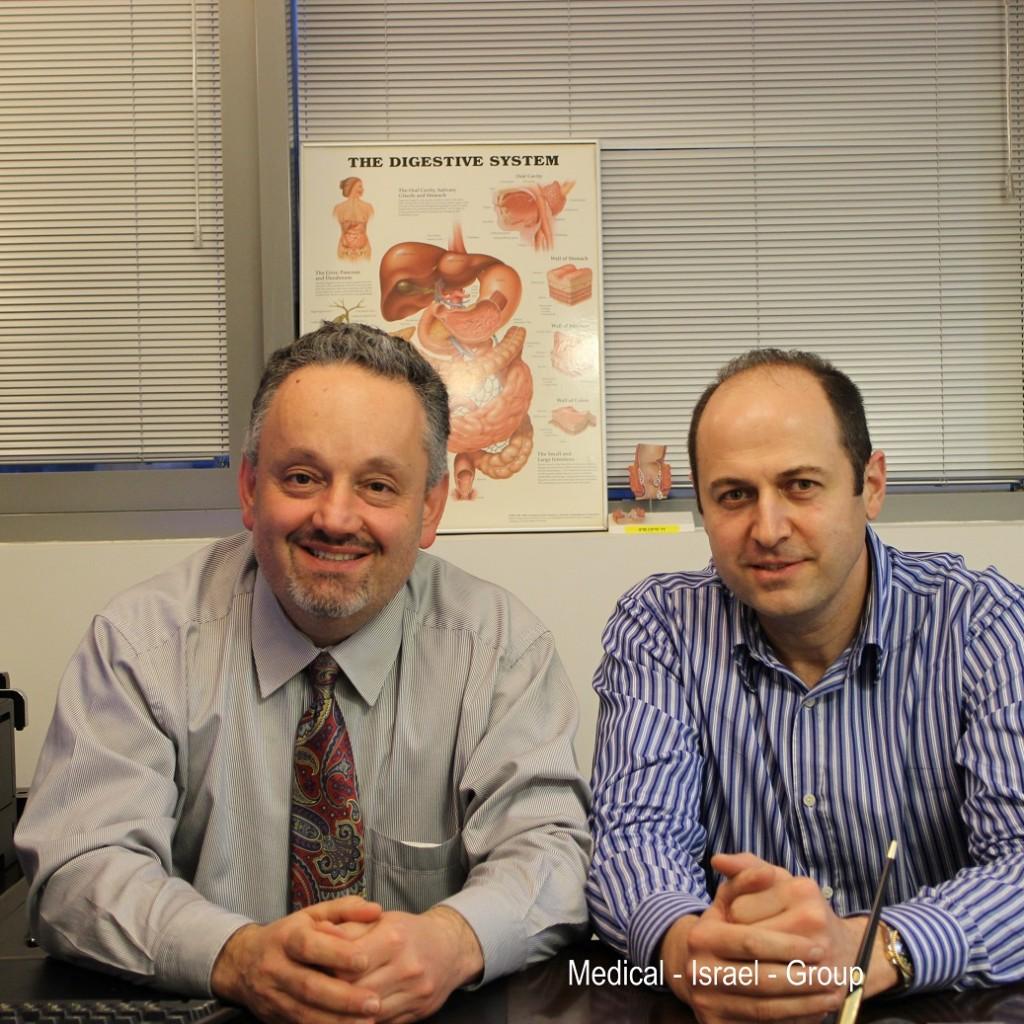 Доктора Марат Хайкин (слева) и Юрий Голдис (справа)
